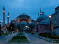 Hagia Sophia at dawn