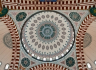The dome of Sehzade mosque