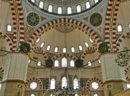 Interior of Sehzade mosque