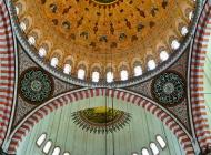Interior of the Suleimaniye Mosque