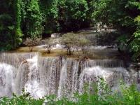 Hyai Mae Nakamin Waterfall in Sri Nakarin National Park, Kanchanaburi