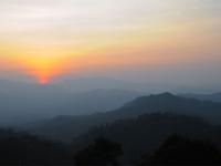 Sunrise at Khaeng Krachan NP