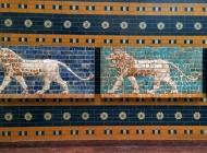 Glazed friezes from Babylonian Ishtar Gate