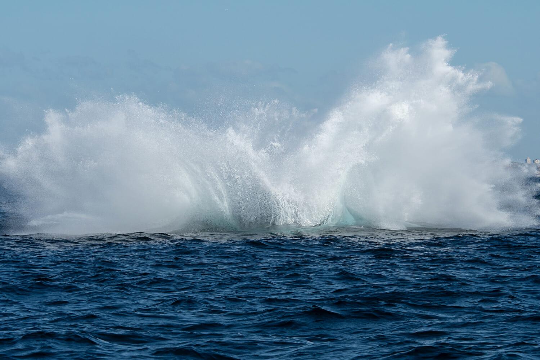 Splash-from-humpback-breach