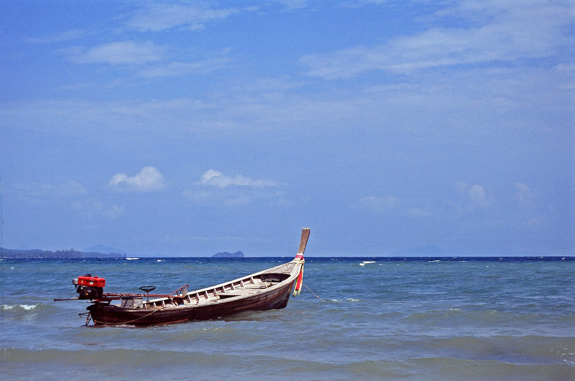 Long-tail boat on Koh Jum