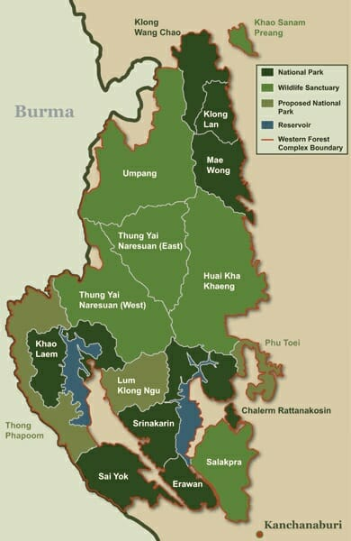 Western Forest Complex (sourced from www.ecn-thailand.org)