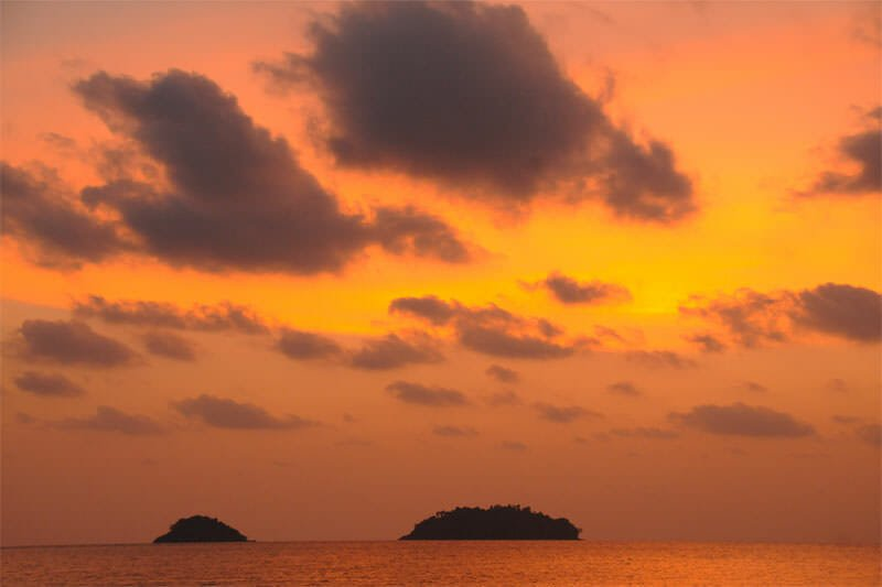Wildlife watching in Mu Ko Chang - Sunset at Ko Chang