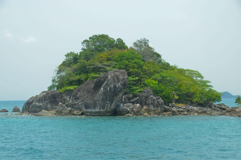 One of the small islands at Mu Ko Chang