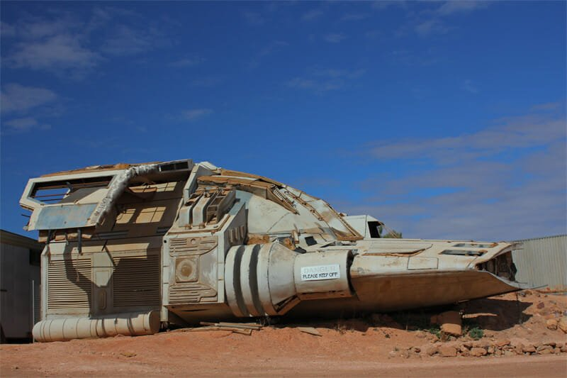 Riddick's space ship