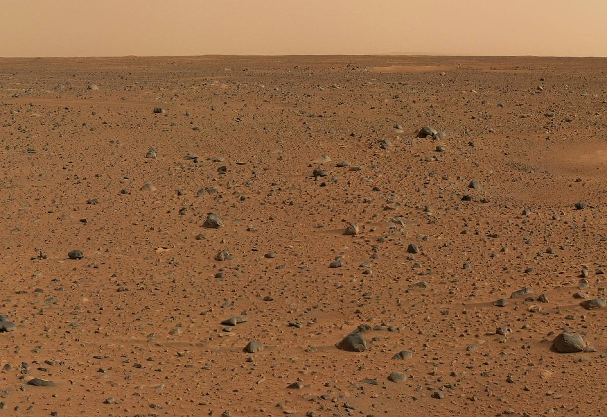 Mars surface (www.nasa.org)