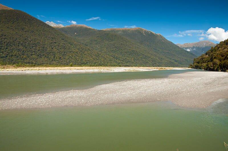 Haast River, Mt. Aspiring National Park