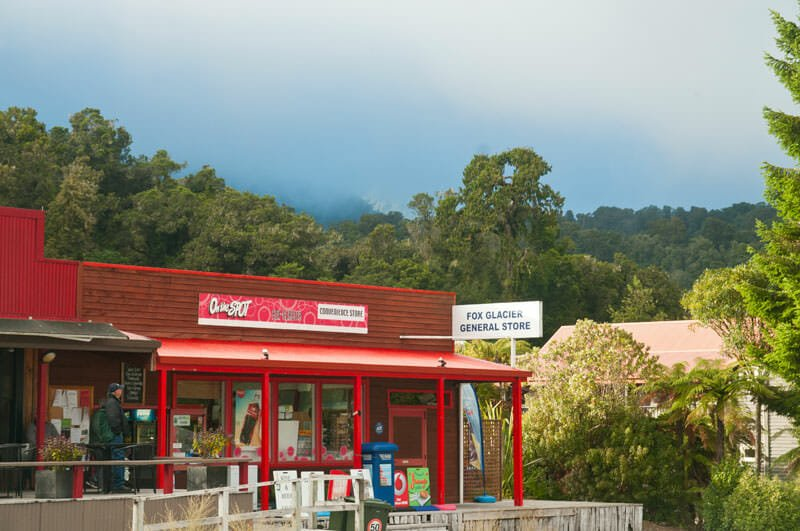 Fox Glacier township, New Zealand