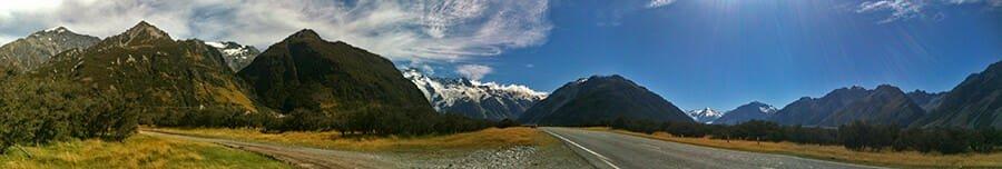 Mt. Cook National Park
