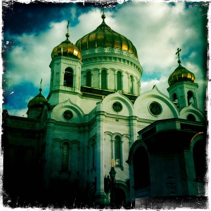 Self-guided tour walking tour of Moscow - Cathedral of Christ the Saviour