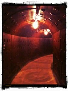 Bunker corridor