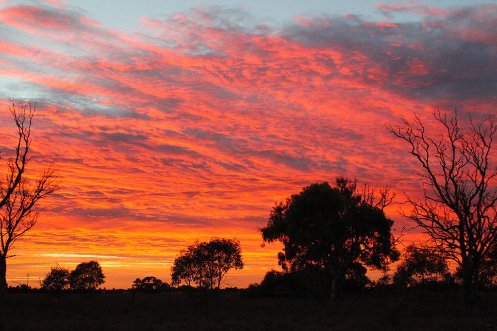Sunrise on the Eyre Peninsula