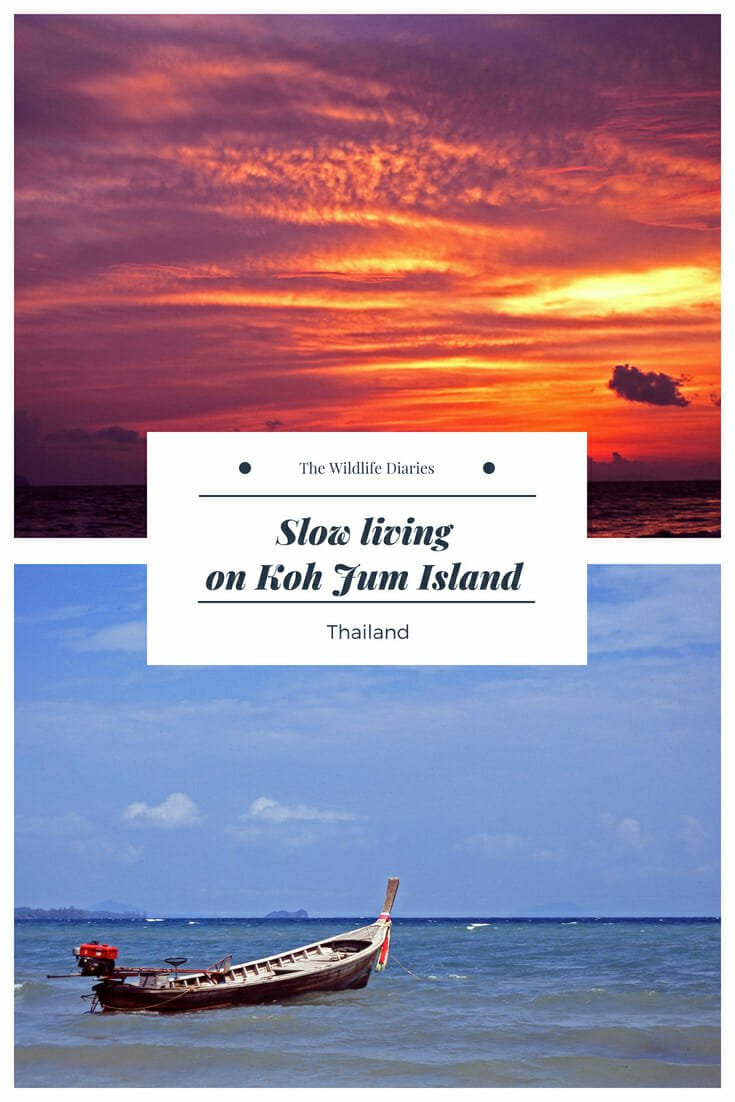 Slow living on Koh Jum Island in Southern Thailand #islandlife #kohjum #slowliving #seagypsy #thailandislends