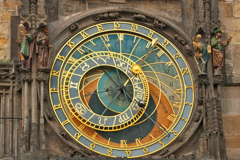 A weekend in Prague - Astronomical Clock detail