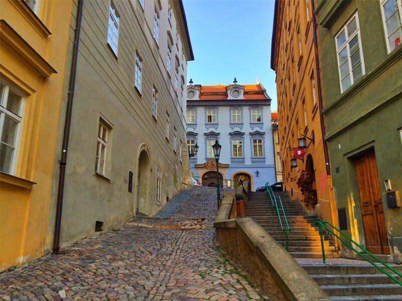 A weekend in Prague - Mala Strana - early morning