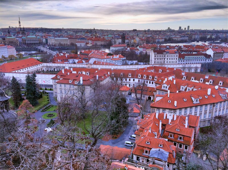 A weekend in Prague - View from Prague Castle