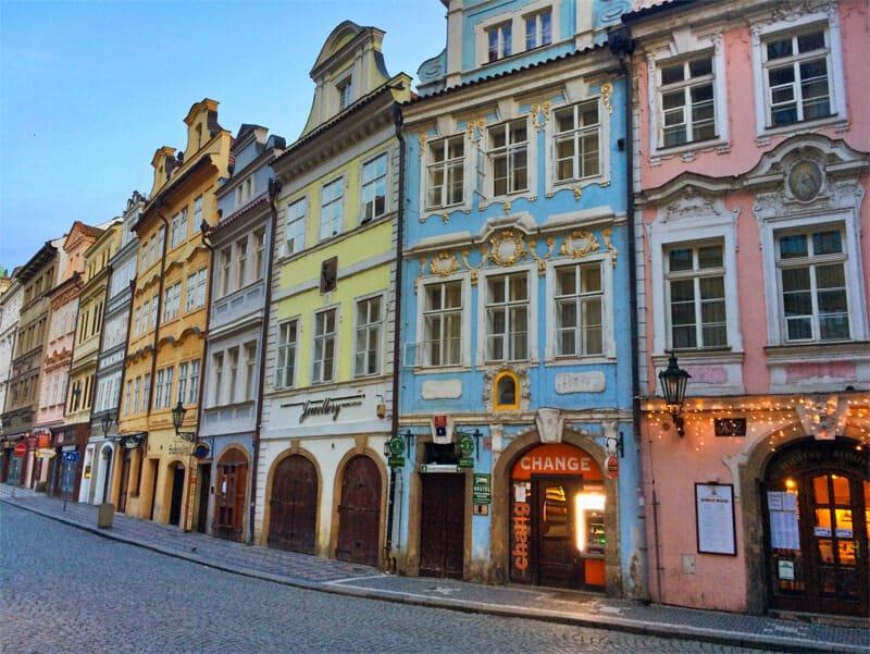 A weekend in Prague - Mala Strana