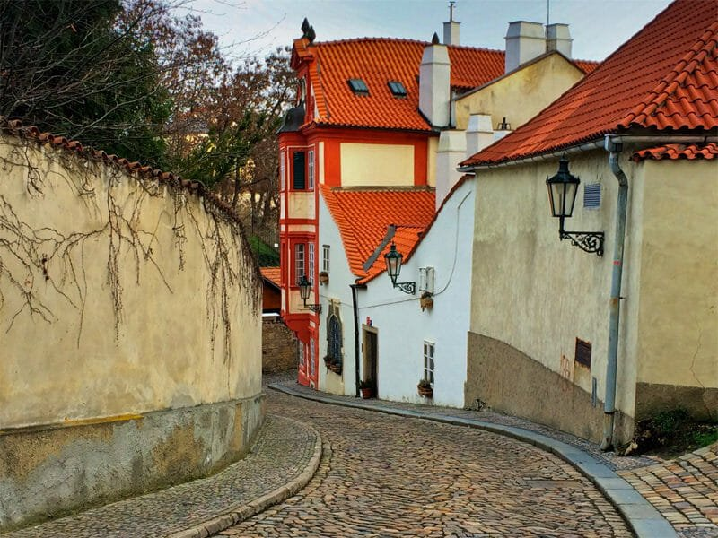 A weekend in Prague - Novi Svet Street