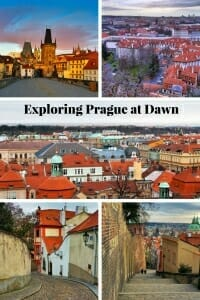 A weekend in Prague - Exploring Prague at dawn #Prague #CharlesBridge #PragueCastle #StrahovMonastery