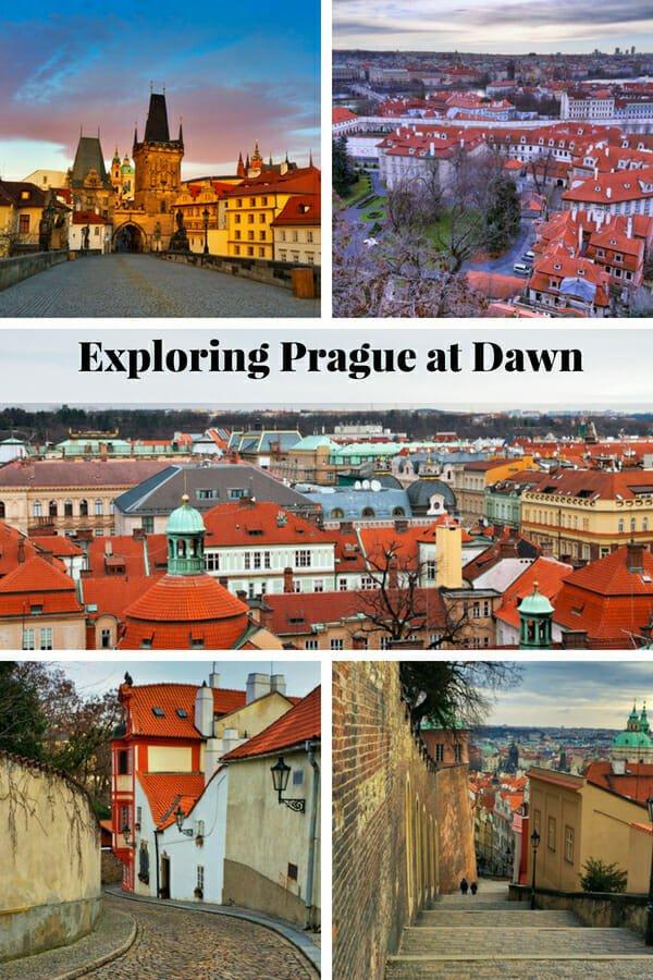 A weekend in Prague - Exploring Prague at dawn #Prague #CharlesBridge #PragueCastle #StrahovMonastery