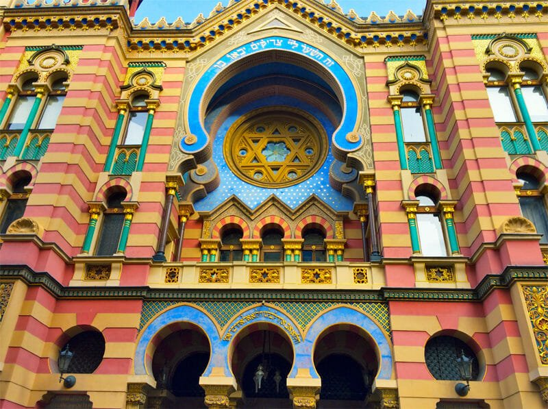 A weekend in Prague - Jerusalem Synagogue
