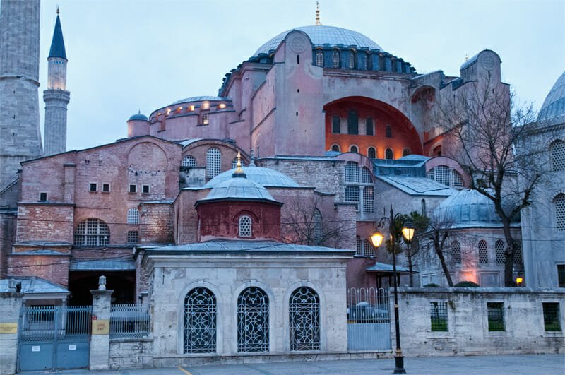 On the trail of Constantinople - Hagia Sophia