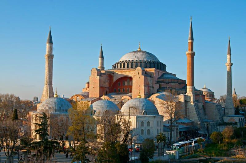 Istanbul sightseeing - Hagia Sophia