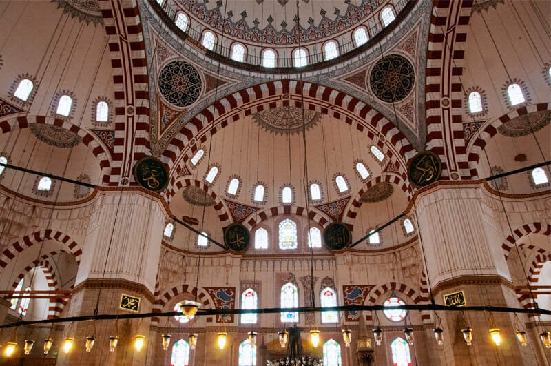 The Greatest Mosques of Istanbul - Interior of Shehzade Mosque