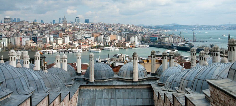 View over the Golden Horn from the Suleimaniye Mosque