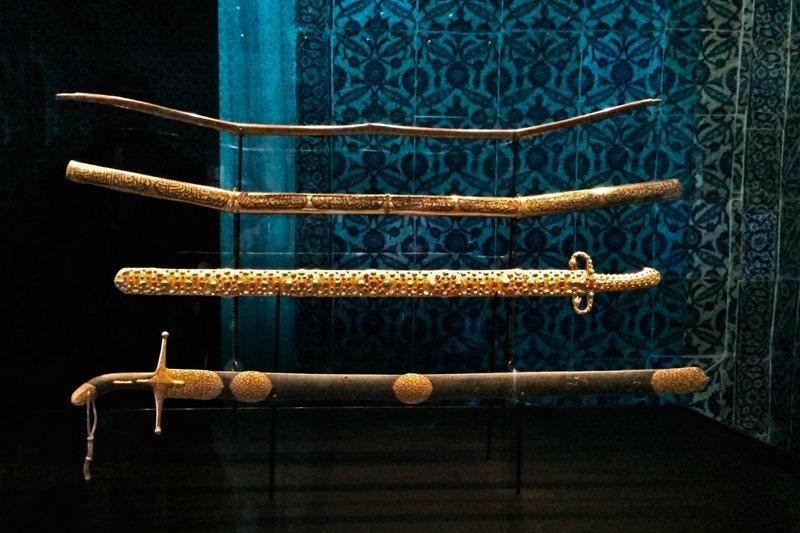 Muhamed's swords