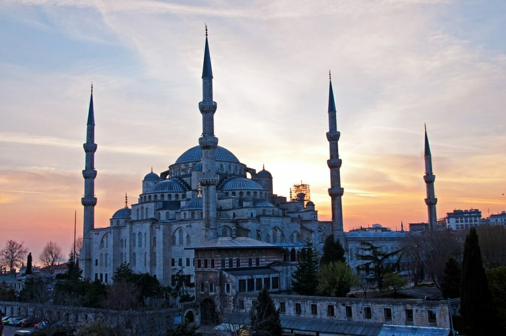 Istanbul sightseeing - Blue mosque