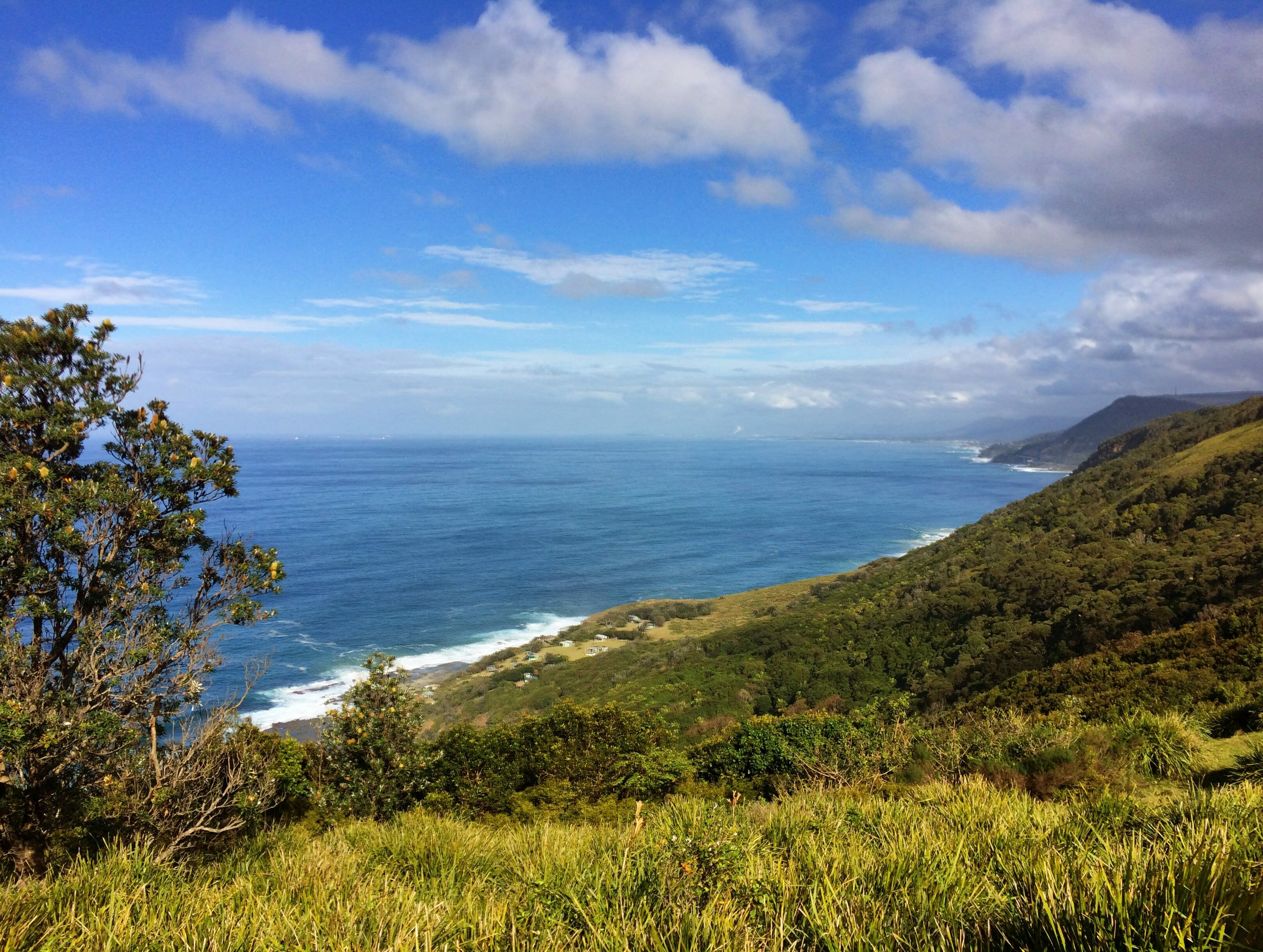 Illawara coastline
