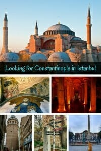 Looking for Constantinople in Istanbul. #chorachurch #hagiasophia #hippodrome #galata #basilicacistern #vallensaqueduct
