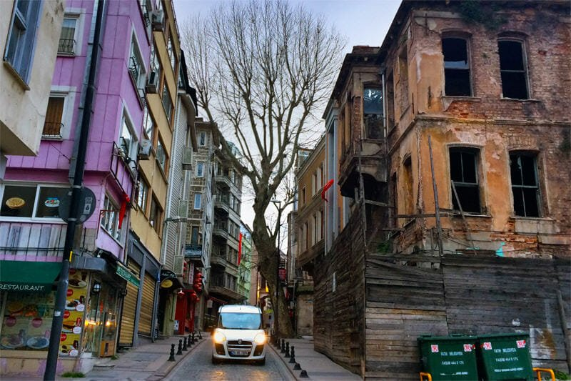 Old streets of Istanbul - Sultanahmet