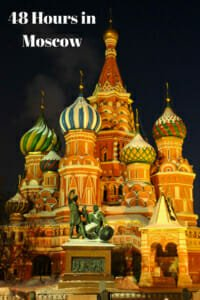 48 Hours in Moscow - A Self-guided Walking Itinerary #Kremlin #RedSquare #Arbat #ColdWar #Bunker.