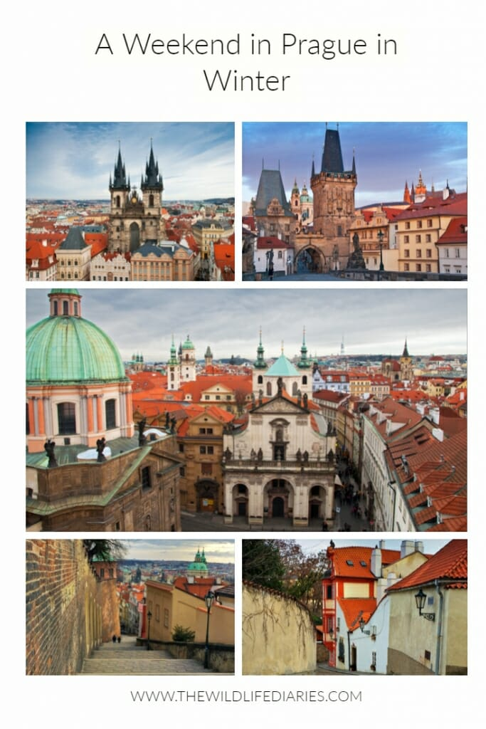 A weekend in Prague in winter