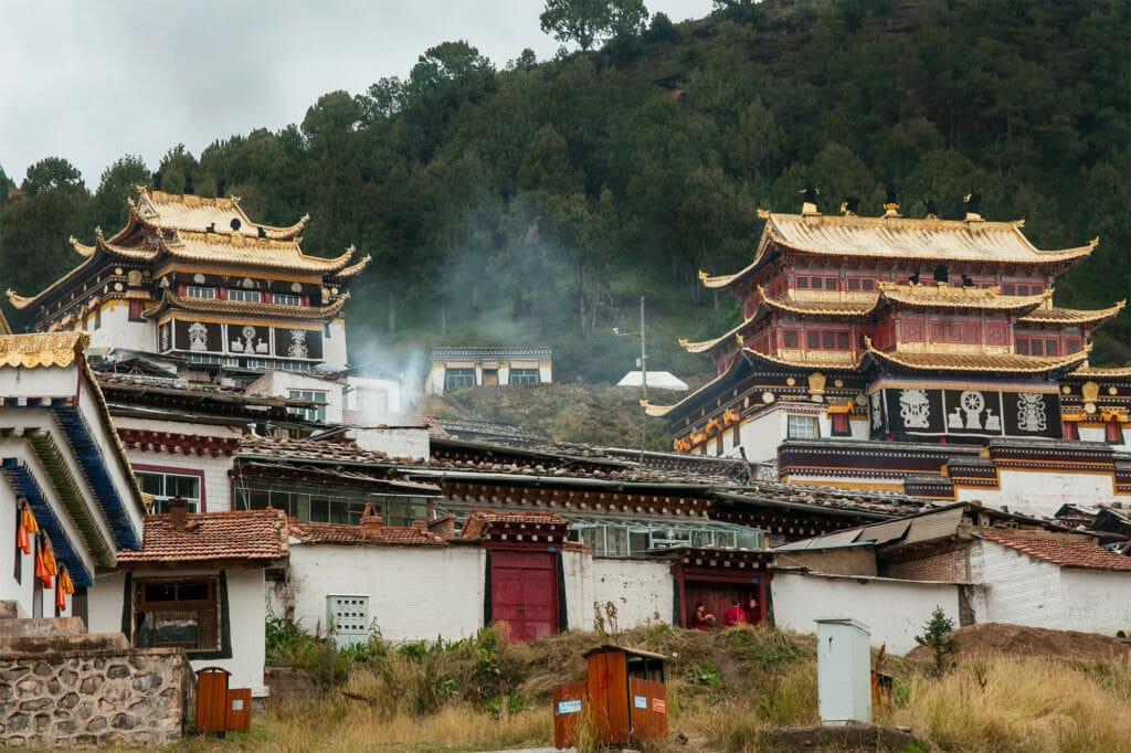 Tibetan Plateau - Setri Gompa monastery