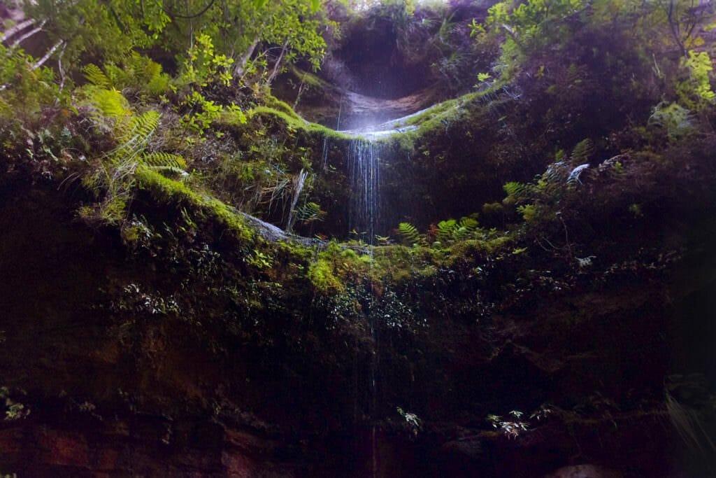 Small waterfall along Grand Canyon Loop track