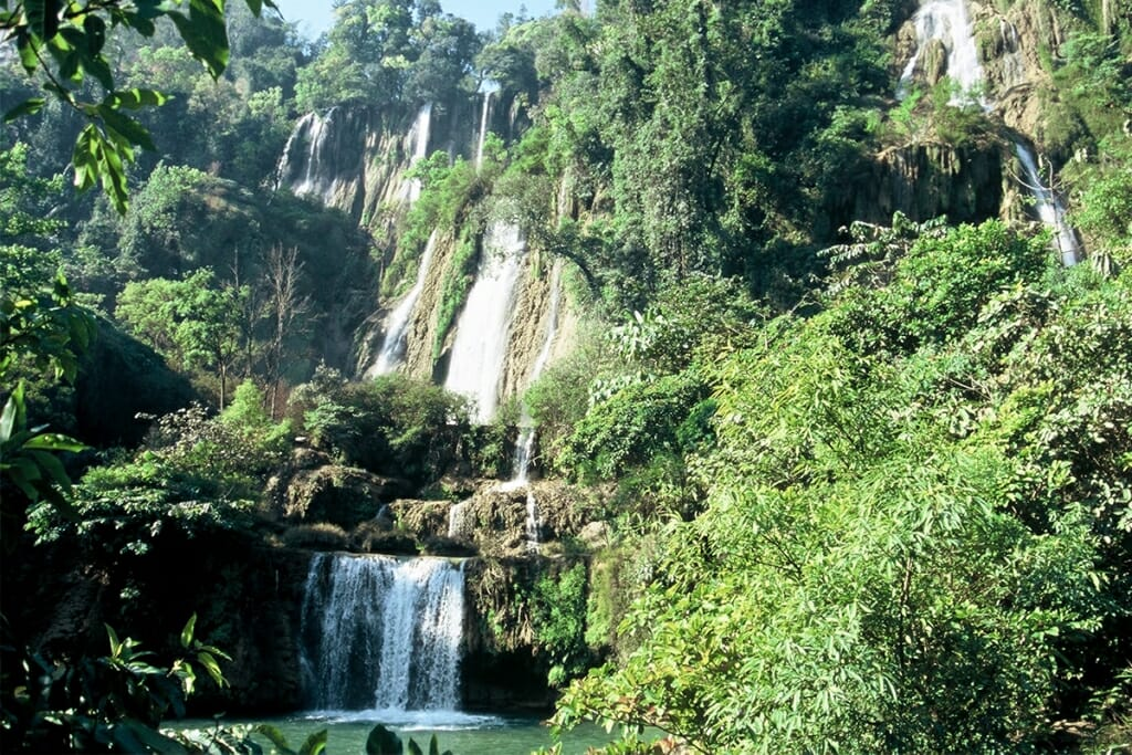 Tilawsu waterfall