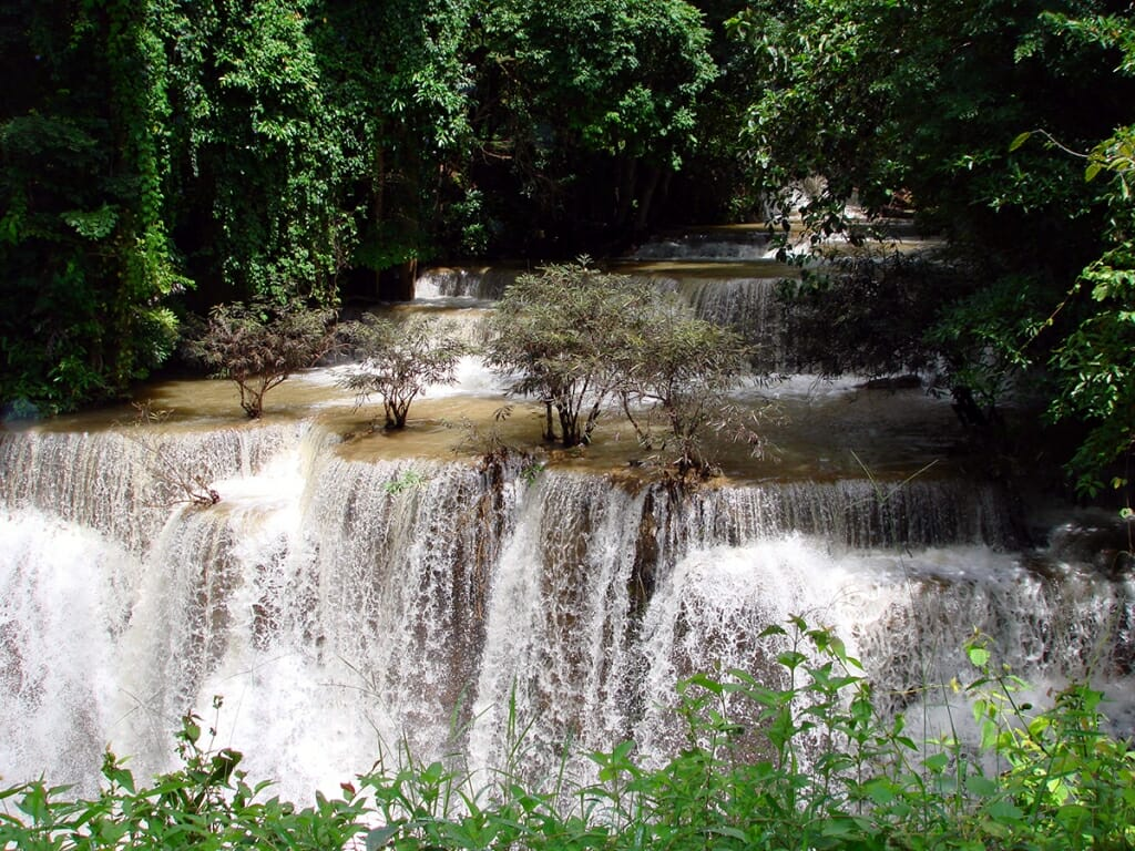 Huay Mae Nakamin Waterfall