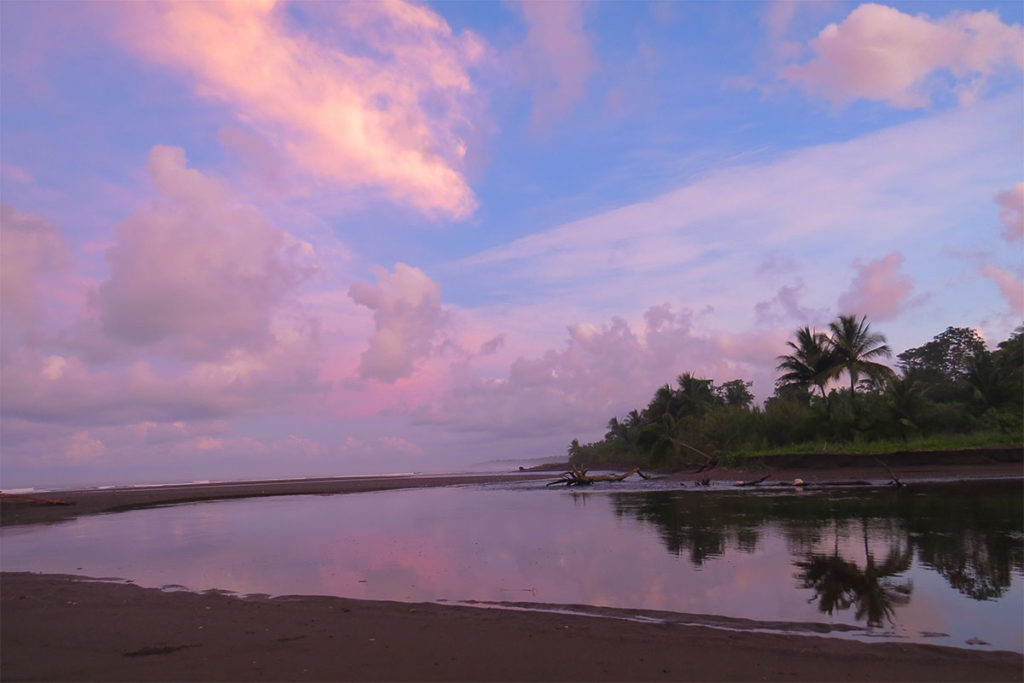 Sunrise in Corcovado national park