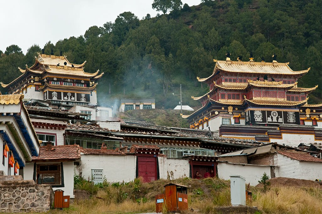 Setri Gompa monastery in Langmusi