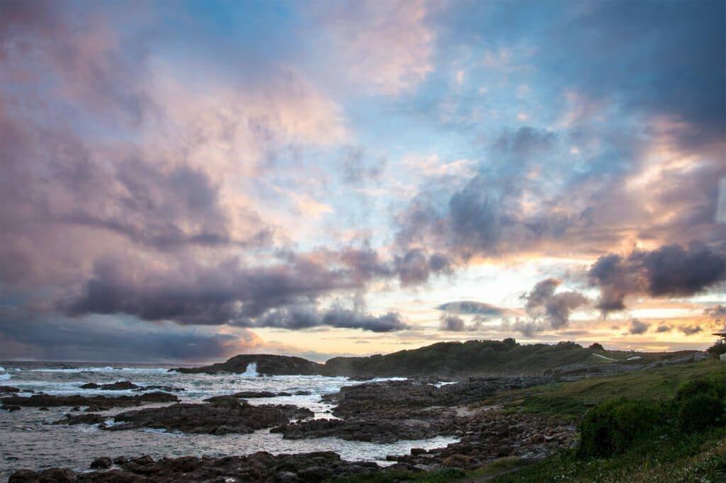 Sunset at Anna Bay, Australia