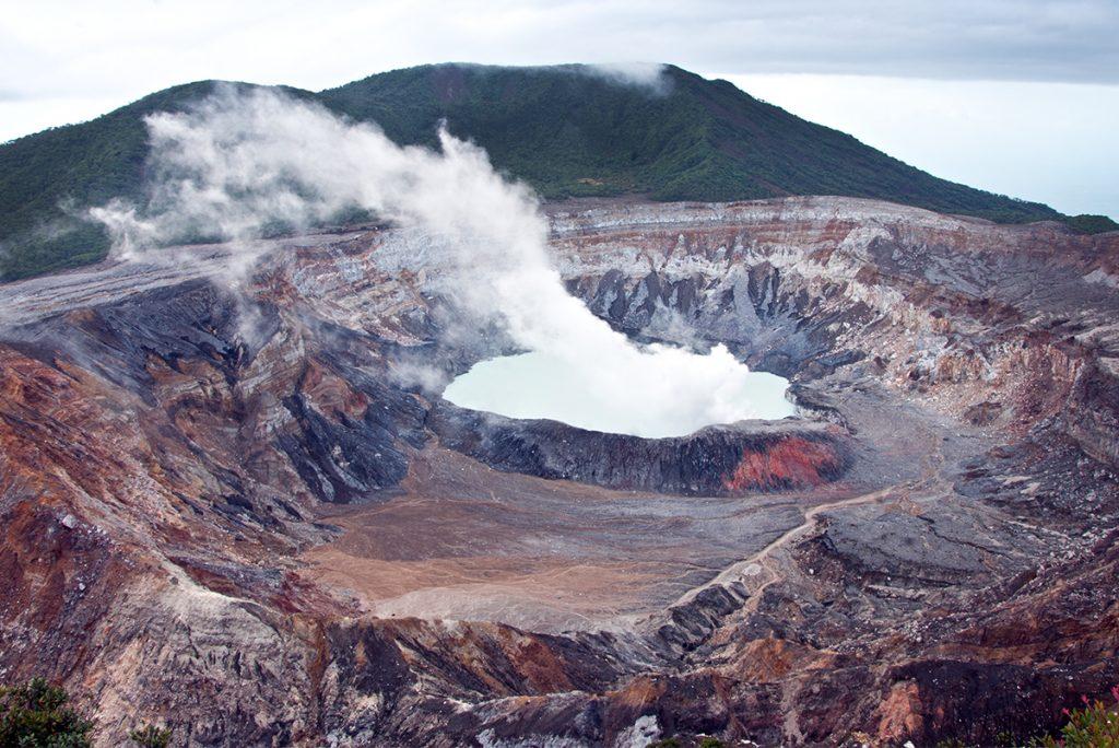 Poas Volcano Costa Rica