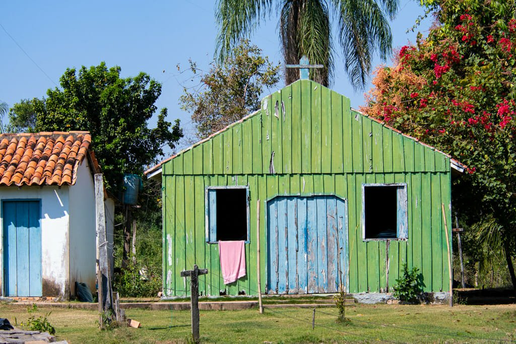 House on the Pantanal