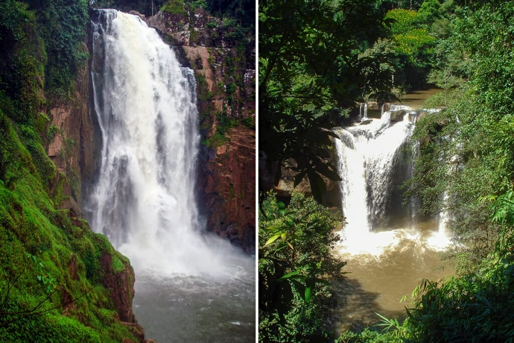 Haew Narok and Haew Suwat Waterfalls